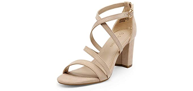 Dream pairs Women's Low Cut - Block Heel Sandals