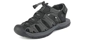 Dream Pairs Men's Adventurous - Sandals for Corns