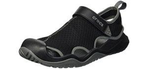 Crocs Men's Swiftwater - Sandals for Driving