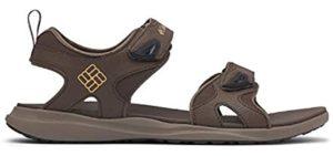 Columbia Men's 2 Strap - Sporty Memory Foam Sandals