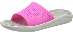 Crocs Women's LiteRide - Memory Foam Slide Sandals