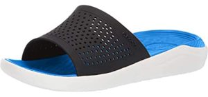 Crocs Men's LiteRide - Memory Foam Slide Sandals
