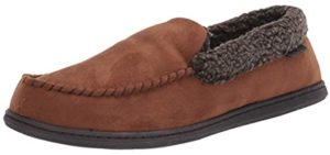 Dearfoams Men's Rebecca - Slipper for Supination