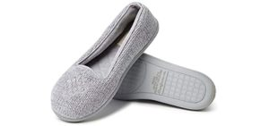 DearFoams Women's Eli - Slipper for Supination