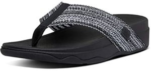 FitFlop Women's Surfa - Narrow Feet Flip Flops