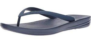 FitFlop Men's Iqushion - Flip Flop Sandals for Teachers