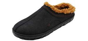 Flojos Men's Que Lined - Slipper for Cracked Heels