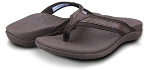 Footminders Women's Baltra - Flip Flops for Plantar Fasciitis
