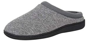 Hanes Men's Clog - Slipper for Achilles Tendonitis