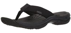 Keen Men's Kona - Outdoor Flip Flops for Plantar Fasciitis