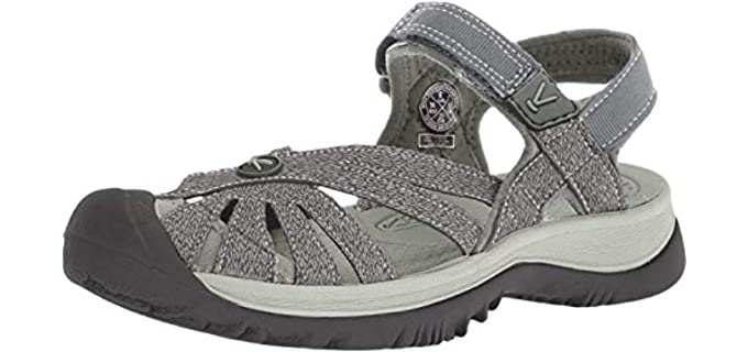 Keen Women's Rose - Sandals for Long Toes