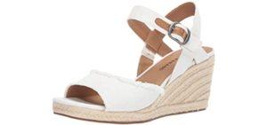 Lucky Brand Women's Mindra - Formal Memory Foam Sandals