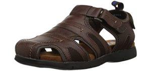 Nunn Bush Men's Rio Grande - Casual Memory Foam Sandals