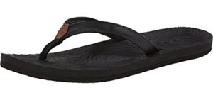Reef Women's Zen Love - Flip Flop for Narrow Feet