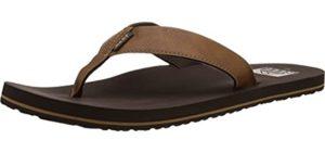 Reef Men's TwinPin - Flip Flop for Narrow Feet