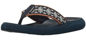 Skechers Women's Asana - Memory Foam Flip Flop