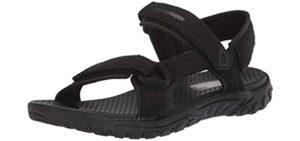 Skechers Men's Reggae Tulo - Sports Sandals for Kayaking