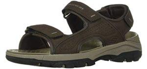 Skechers Men's Tresmen Garo - Memory Foam Sandals