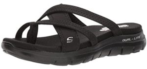Skechers Women's Start Up - Sandal with Memory Foam