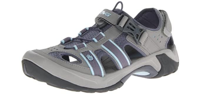 Teva Women's Omnium - Closed Style Sandals for Bunions