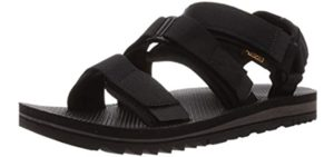 Teva Men's Cross Trail - Sandals for Hiking and Water