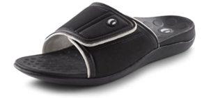 Vionic Men's Kiwi Slide - Casual Orthopedic Slide
