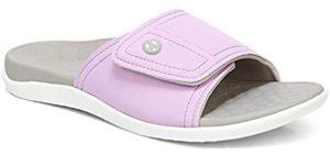 Vionic Women's Kiwi Pastels - Slide Sandal