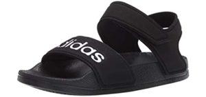Adidas Boy's Adilette - Adjustable Sandals