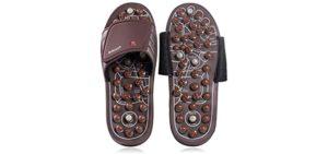 Byriver Women's Accupressure - Massage Sandals