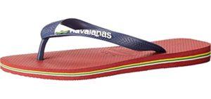 Havaianas Men's Brazil - Beach Flip Flops for