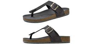 Oncai Men's Flip Flop - Cork Flip Flops
