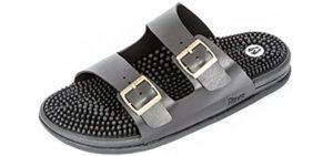 Revs Men's Premium - Massage Sandals