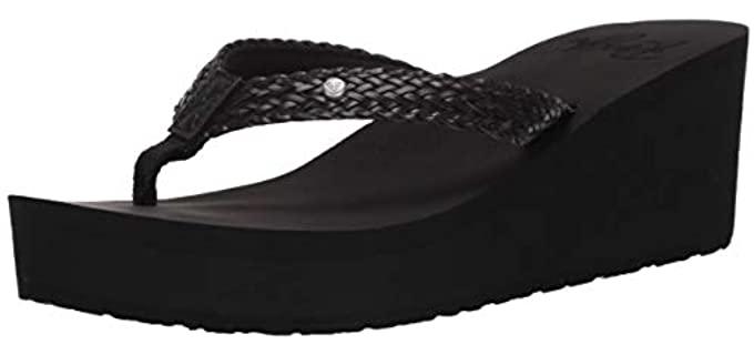 Roxy Women's Mellie - High Heel Flip Flops