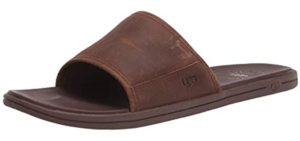 UGG Men's Seaside Slide - Beach Flip Flops and Thong Sandal