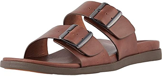 Vionic Men's Ludlow Charlie - Comfortable Leather Slides