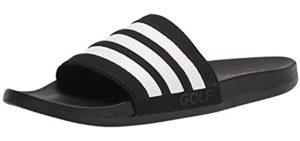 Adidas Men's Adilette - Beach Sandals for Heel Pain