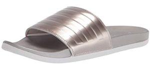 Adidas Women's Adilette - Beach Sandals for Heel Pain