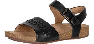 Clarks Women's Perry Way - Plantar Fasciitis Sandal