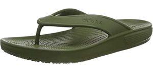 Crocs Women's Classic Flip - Flip Flops for Showering With