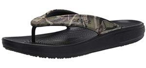 Crocs Men's Classic Flip - Flip Flops for Showering With