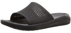 Crocs Men's LiteRide - Orthopedic Slide Sandals for Runners