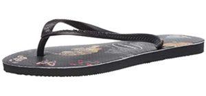 Havaianas Men's Slim - Flip Flops for Narrow Feet