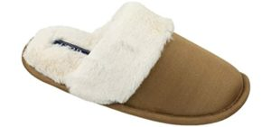 Izod Women's Slide On - Slippers for Supination