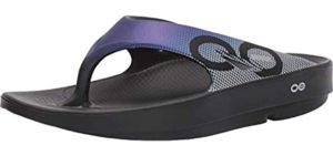 Oofos Men's Sport - Sandal for Plantar Fasciitis