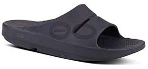 Oofos Men's OOahh - Plantar Fasciitis Slide Sandal