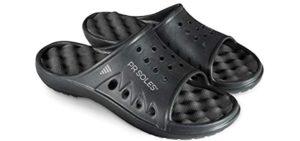 PR Soles Men's Original - Recovery Sandals for Runners