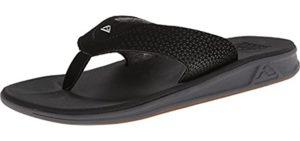 Reef Men's Rover - Flip Flops for Narrow Feet