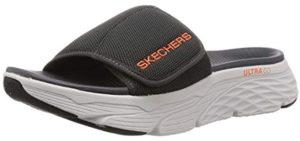 Skechers Men's Max Cushioning - Plantar Fasciitis Sandal