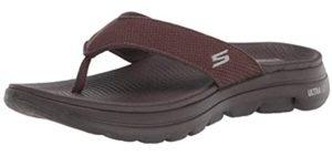 Skechers Men's Go Walk 5 - Sandals for Plantar Fasciitis