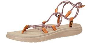 Teva Women's Voya Infinity Flip - Leather Sandals